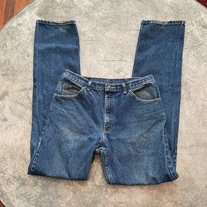 Vintage Lee Blue Denim Jeans Sz 32